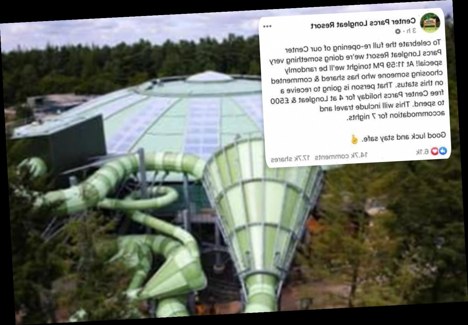 Warning over Center Parcs fake Facebook page scam that has tricked 17,000 people