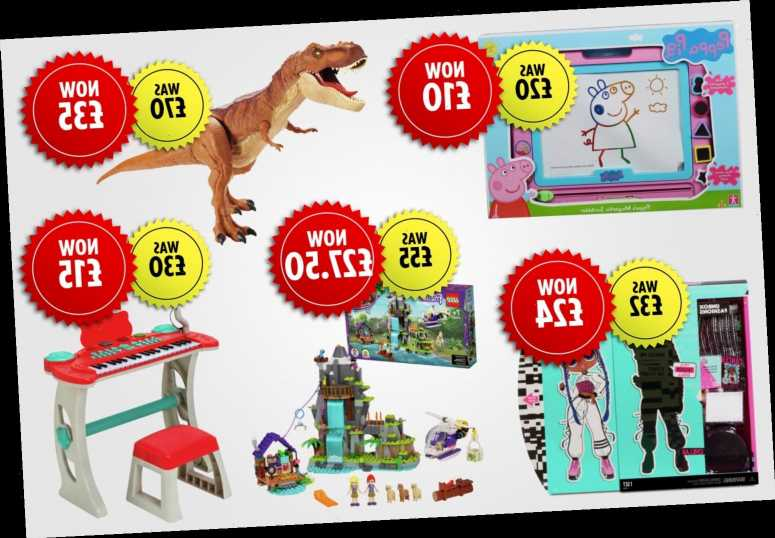 Argos up to half-price toy sale includes Peppa Pig and Lego