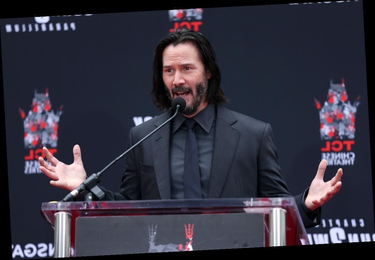 Keanu Reeves Got Nervous on the Set of 'Bill and Ted Face the Music' for the Most Adorable Reason