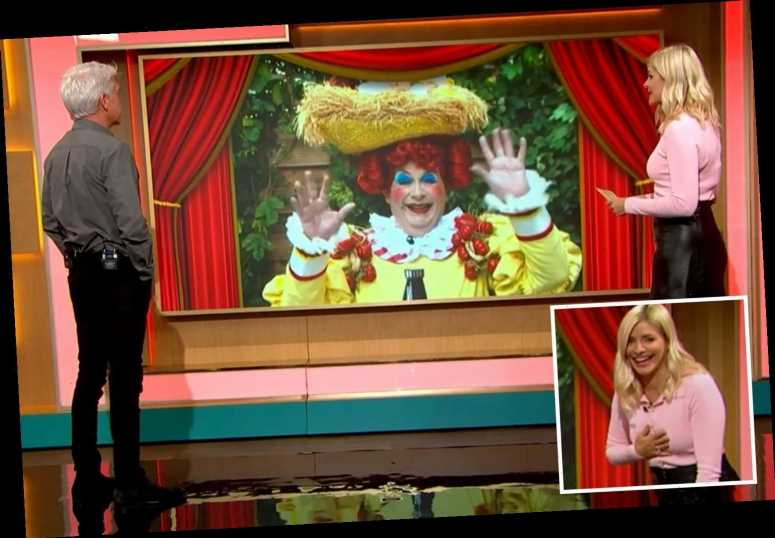 This Morning's Holly Willoughby says 'there's no sign of d**k' in smutty panto innuendo and leaves viewers in stitches