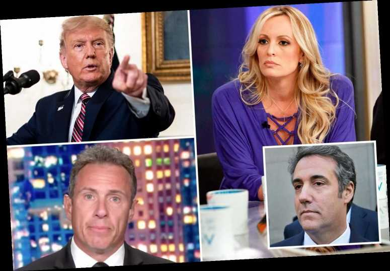 CNN's Chris Cuomo 'caught on secret tapes coaching guest on how to answer questions about Trump and Stormy Daniels'