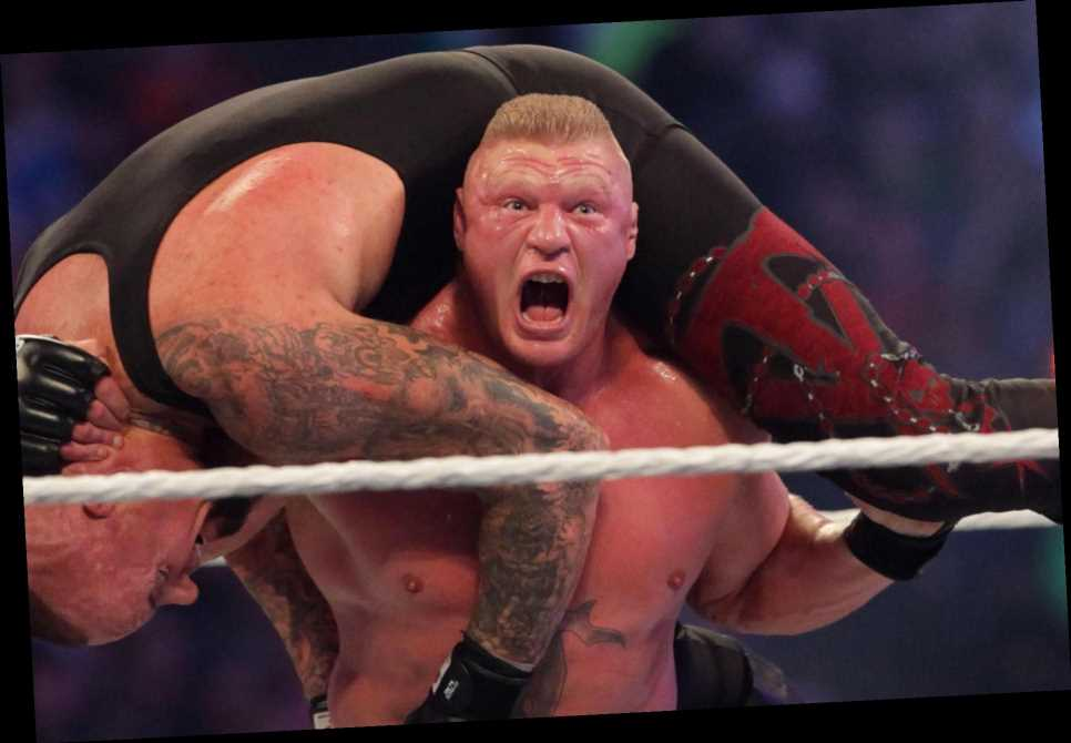 Brock Lesnar exits WWE after contract runs out sparking speculation of UFC return… or could be move to AEW?