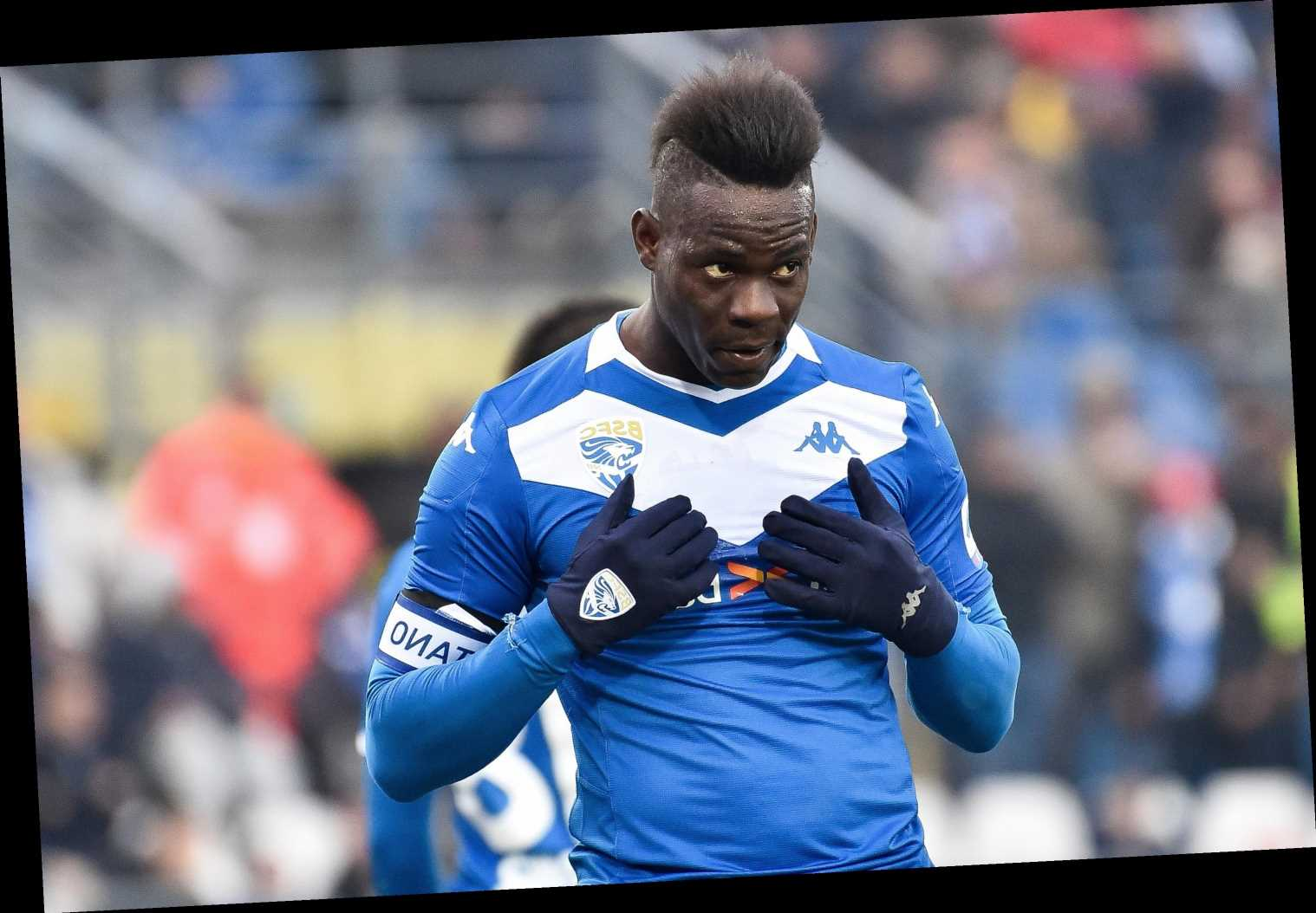 Mario Balotelli to be thrown career lifeline as Genoa target him in shock transfer after controversial exit from Brescia