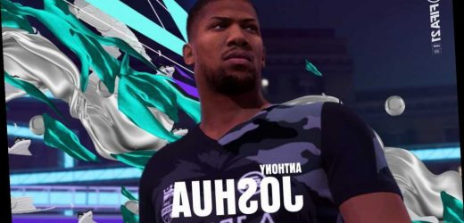 Anthony Joshua on FIFA 21 as playable character as fans get to use boxer in Volta mode