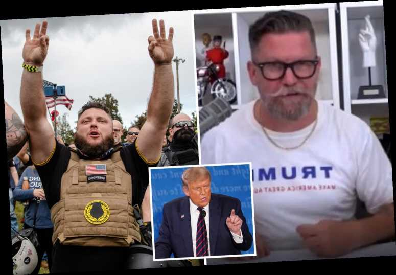 Proud Boys founder Gavin McInnes reacts to Trump name-checking far-right group during first presidential debate