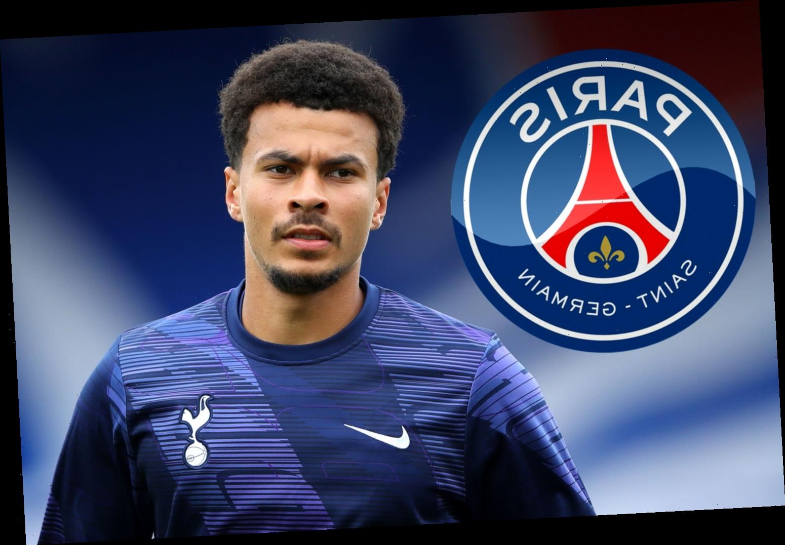 PSG in talks to sign Dele Alli on loan transfer with option to buy with 'Tottenham chief Levy considering accepting'