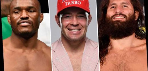 Five potential UFC opponents next for Colby Covington after brutal Woodley win as he calls out Masvidal and Usman