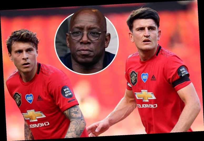 Harry Maguire and Victor Lindelof should be targeted by strikers as Man Utd duo are slammed by Arsenal icon Ian Wright