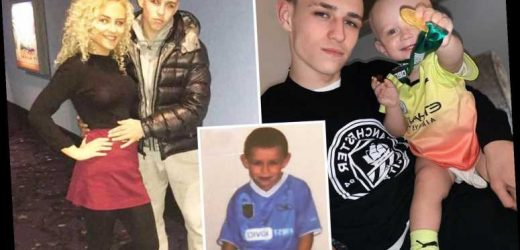 Phil Foden became dad at 18 with childhood sweetheart Rebecca Cooke and Man City star bought £2m home for his parents – The Sun