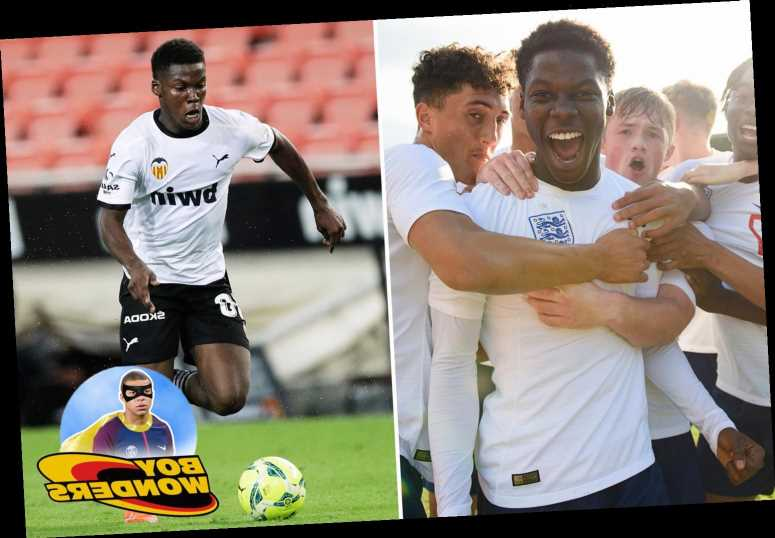 Ex-Arsenal wonderkid Musah, 17, is the first Englishman to play for Valencia and has captained England's youth teams