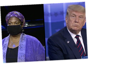 Undecided Black Voters Check Trump During Televised Town Hall