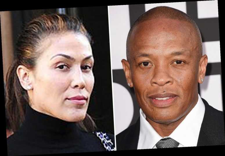 Dr Dre's ex-wife Nicole Young asking for '$2 million dollars a month in temporary spousal support' after divorce filing