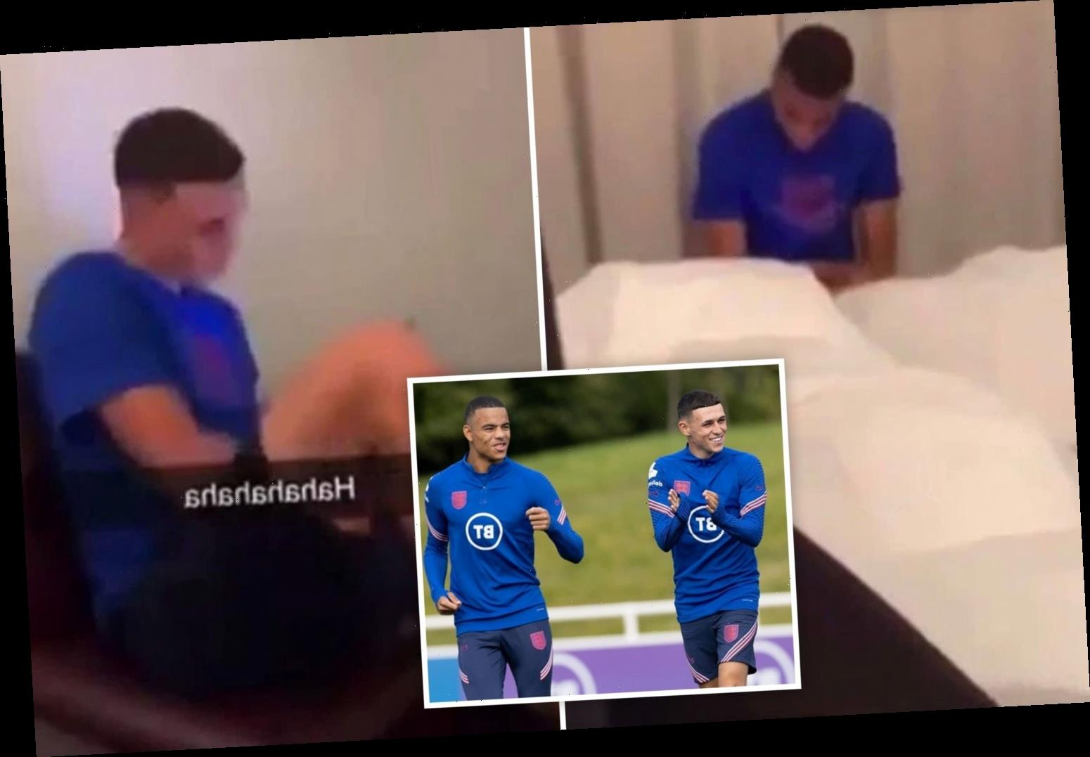 Phil Foden and Mason Greenwood AXED by England after Man City & Utd stars 'invite girls to hotel' breaking Covid rules