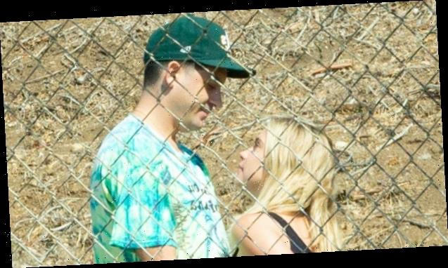 Ashley Benson & G-Eazy Share A Steamy Kiss As She Visits Him On Music Video Set – Pic
