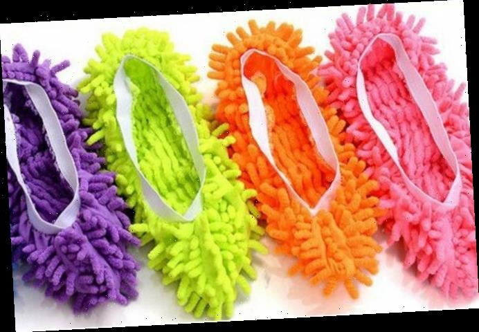 Mrs Hinch fan hails £2.20 microfibre slippers as perfect for your cleaning skirting boards & getting a leg workout