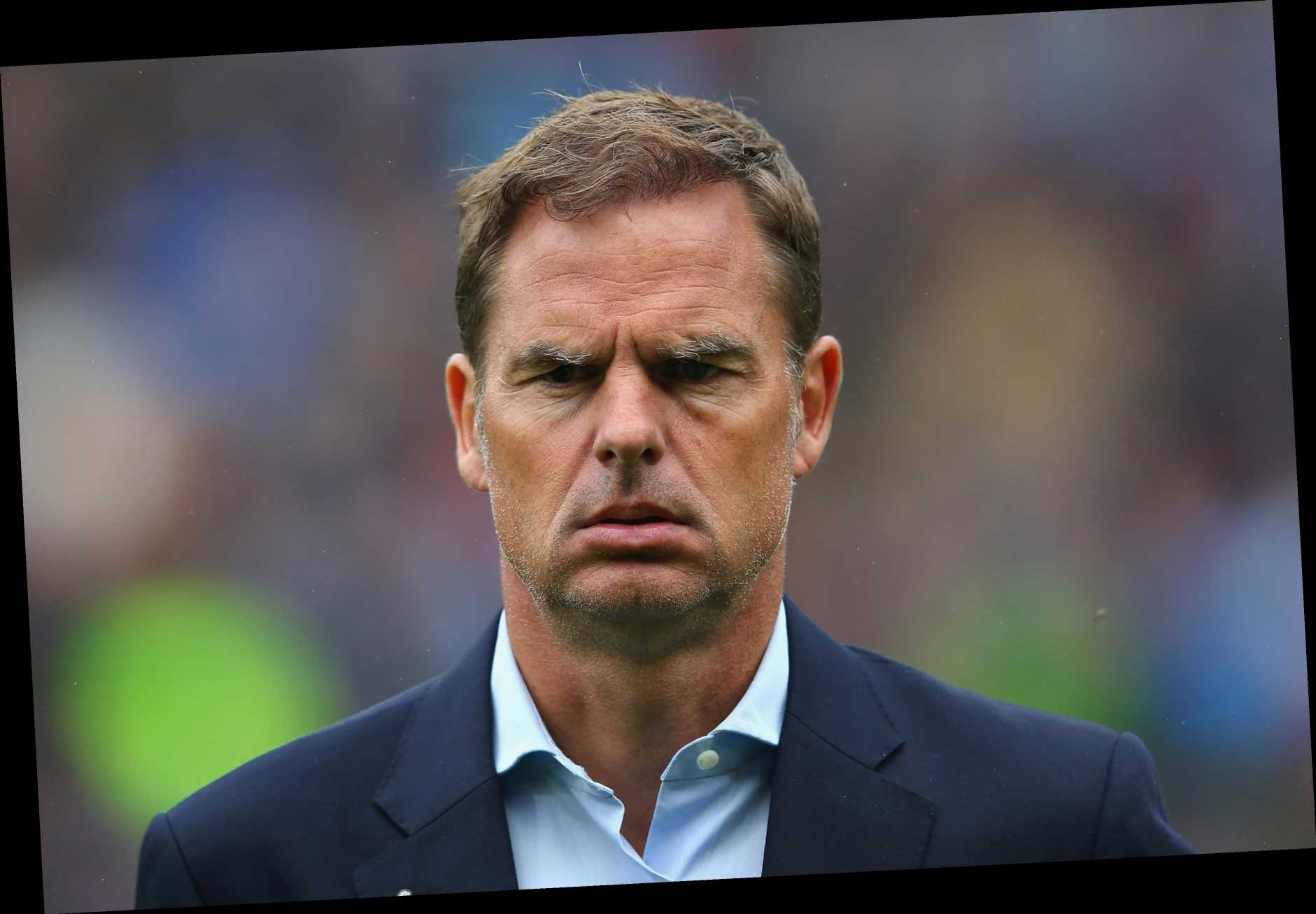 Crystal Palace flop Frank de Boer set to be named as Holland manager to replace Ronald Koeman after Barcelona switch
