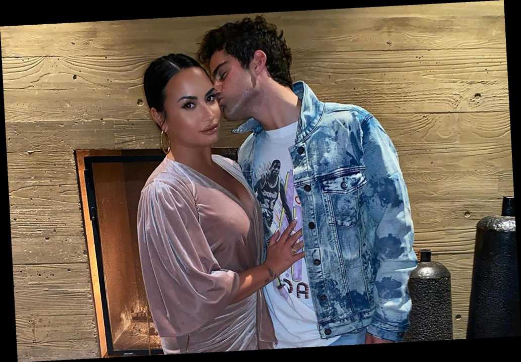 Demi Lovato on the brink of a breakup with fiancé Max Ehrich