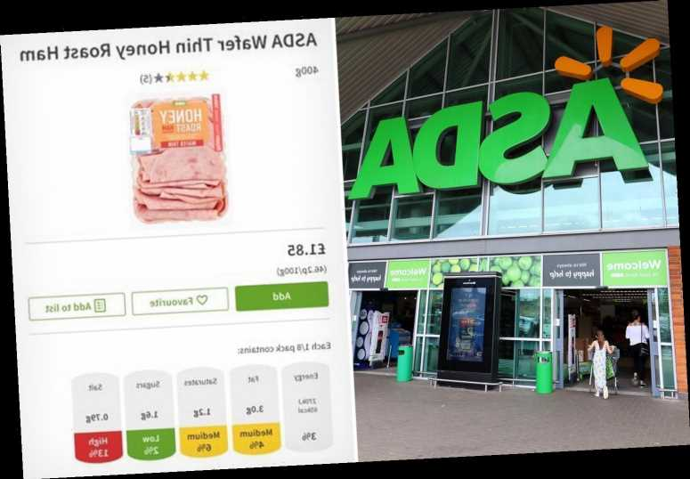 Woman writes hilarious review for Asda wafer-thin ham after her husband compares it to something VERY rude