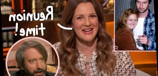 Drew Barrymore Gets Choked Up Reuniting With Ex-Husband Tom Green After 15 YEARS Of Not Speaking!!