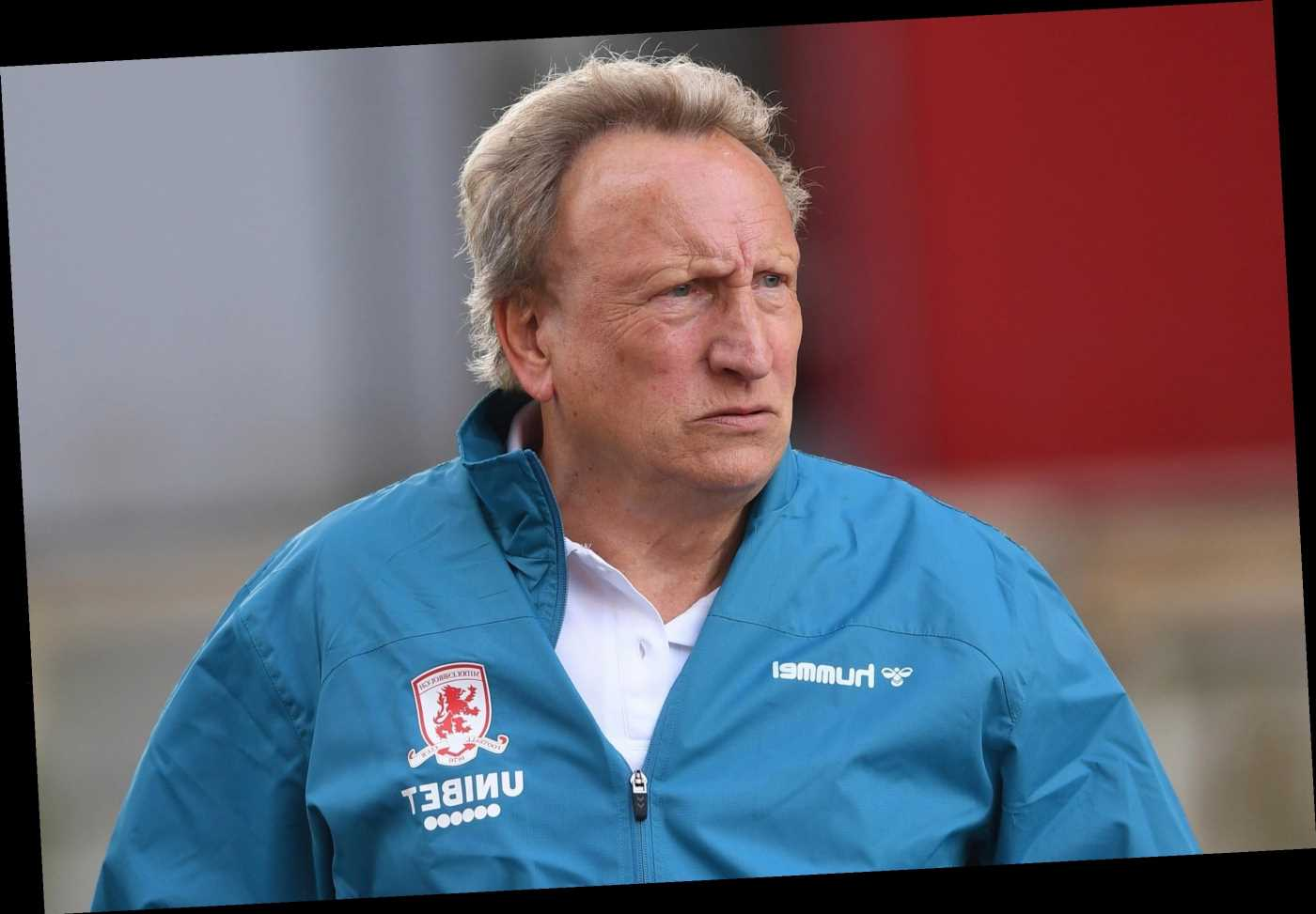 Warnock to miss Boro's trip to old club QPR as he recovers from Covid but will meet squad and new striker Akpom today