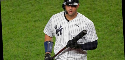 Yankees bench struggling Gary Sanchez in favor of Erik Kratz