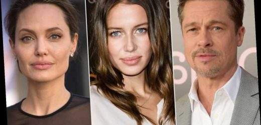 Brad Pitt's New Flame Responds to Accusation She Hates Angelina Jolie: 'Not Hating Anyone'