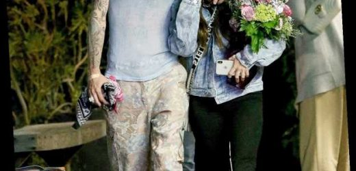 Megan Fox and Machine Gun Kelly Enjoy a Romantic Dinner Date in Hollywood