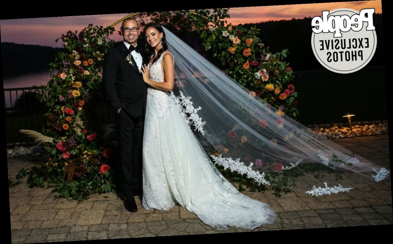 Impractical Jokers Star James Murray Marries Melyssa Davies — See the Stunning Photo