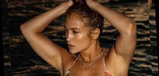 Jennifer Lopez gives us 'vacation vibes' in tropical bikini