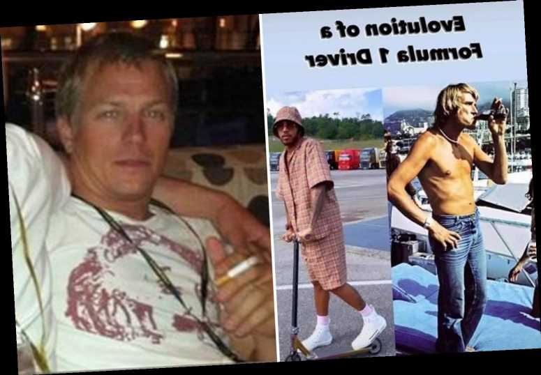 Lewis Hamilton mocked by Kimi Raikkonen with 'evolution of a F1 driver' post alongside a worse-for-wear throwback snap