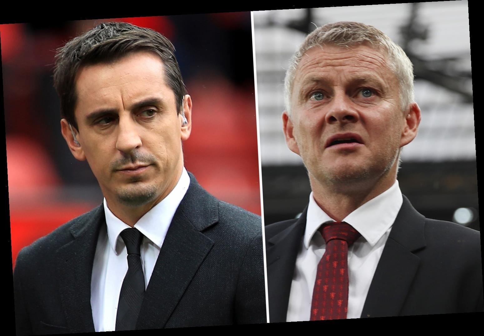 Man Utd need four of FIVE transfer signings as squad cannot compete for Premier League title, claims Gary Neville