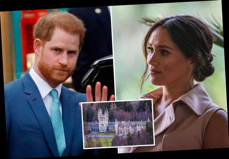 Prince Harry 'upset' he 'can't make it' to Balmoral with Prince William and Kate as Meghan Markle is 'too busy' to care