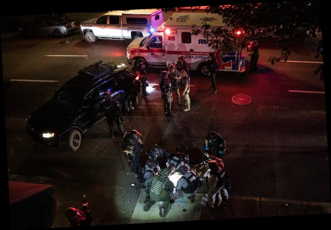 Man being investigated in Patriot Prayer supporter shooting was wounded in July after trying to take gun from stranger