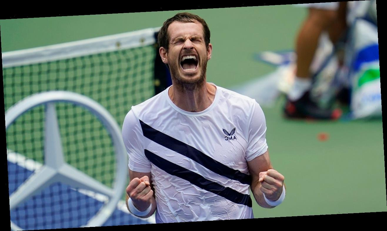 With pros in the stands, Murray saves match point at US Open