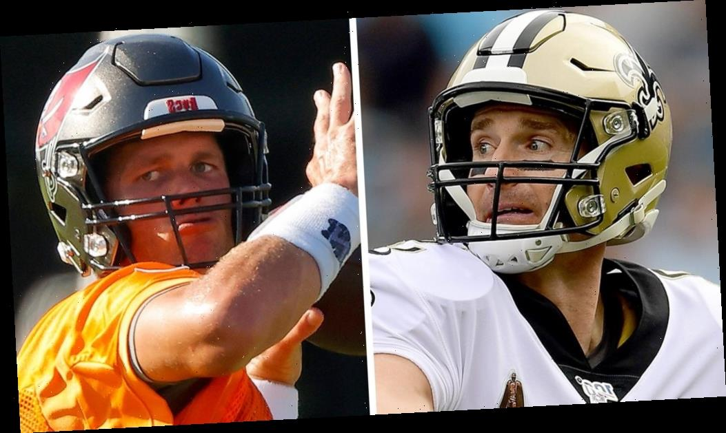 Tom Brady, Bucs set for showdown against Drew Brees, Saints in Week 1 of NFL season