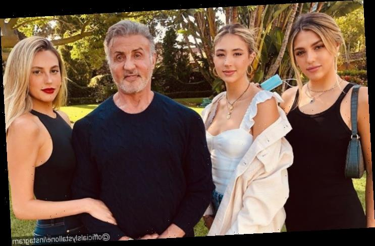 Sylvester Stallone's Daughters Confess to Getting His Help in Breaking Up With Boyfriends