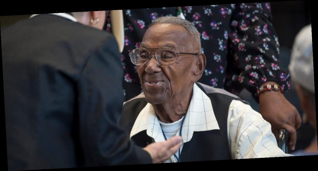The oldest US World War II veteran received more than 10,000 birthday cards from around the world for his 111th birthday