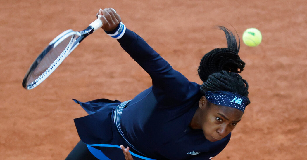 Wet, Windy First Day at French Open Pushes Players to Win Ugly