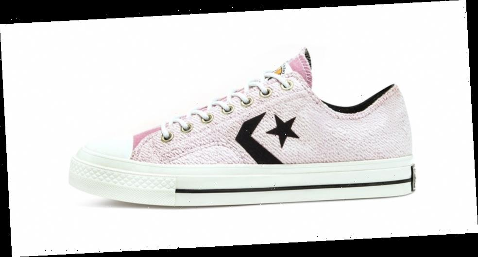 Converse Reworks Star Player With Asymmetrical Terry Cloth Uppers