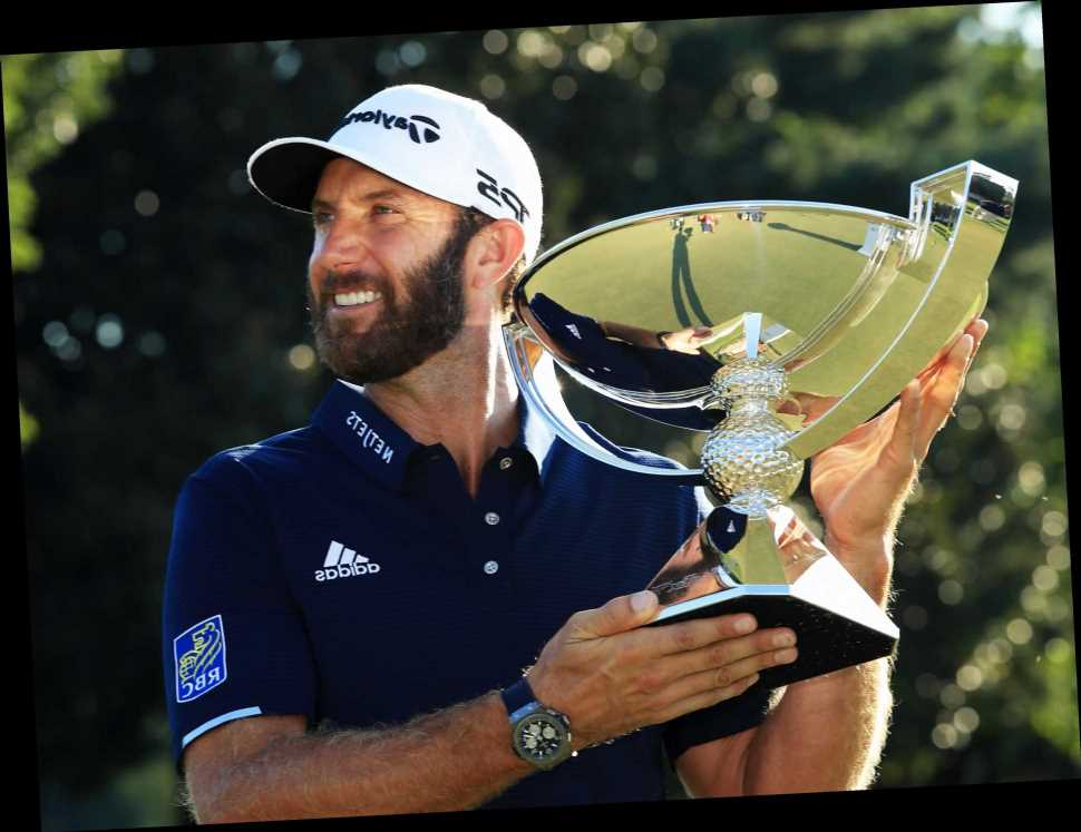 Dustin Johnson secures FedEx Cup and $15m prize money with Tour Championship win