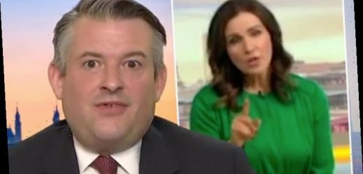 Susanna Reid savages Jon Ashworth over Labour's lack of action 'It's a deal breaker!'