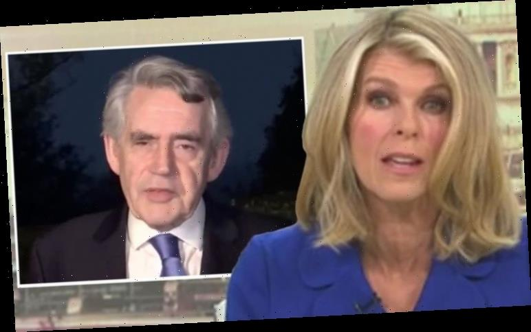 Kate Garraway rips into Gordon Brown over ex-PM's attack on Boris 'What would YOU do?'