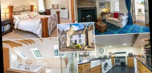 Cottage in village which featured in Outlander goes on sale