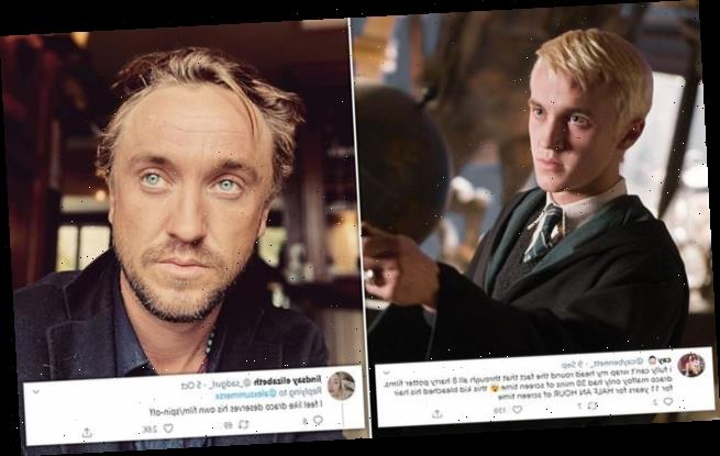 Draco Malfoy's total screen time is just 31 minutes