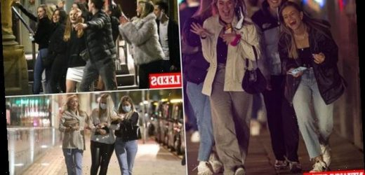 Revellers in the North enjoy night out before tougher covid crackdown