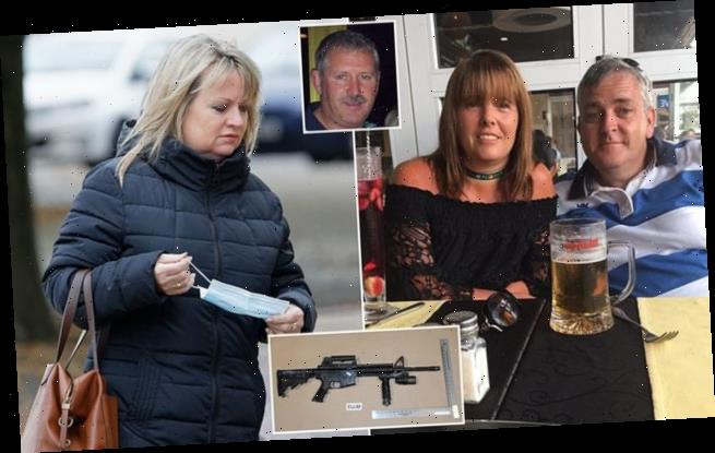 Jealous husband, 53, is jailed for life for murdering wife's lover