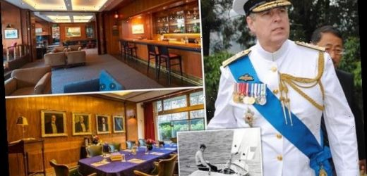 Prince Andrew 'could be sacked' as Commodore of famous yacht club