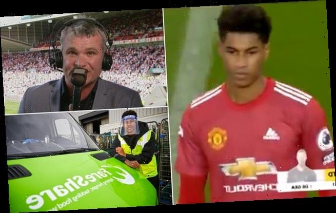 Guy Mowbray DELETES his Twitter page after Marcus Rashford comments