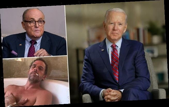 Biden accuses Giuliani of being a Russian pawn in a 'smear campaign'