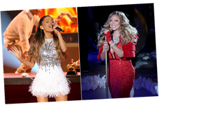 Is A Mariah Carey & Ariana Grande Christmas Song Coming? A New Pic Has Fans Overjoyed